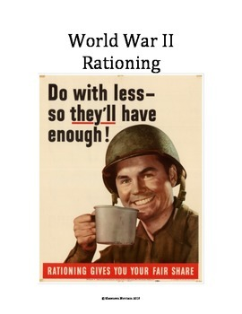 World War II: Rationing Recipes and Sacrifice on the Home Front