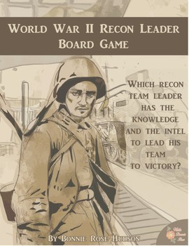World War II Recon Leader Board Game