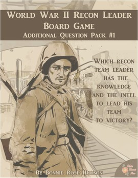 World War II Recon Leader Board Game Additional Question Pack #1