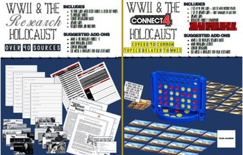 World War II Research Project + Game