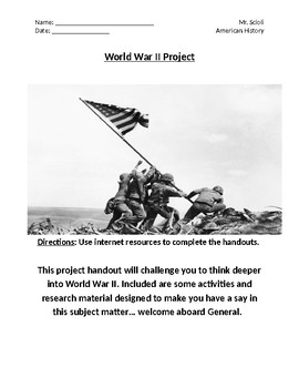 World War II Research and Creativity Project