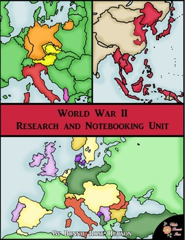 World War II: Research and Notebooking Unit