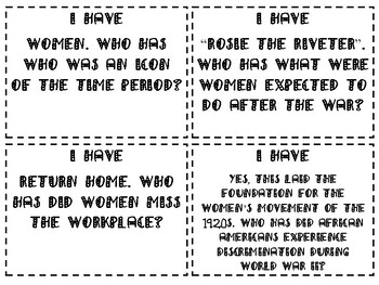 World War II Review Game Part II
