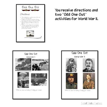 World War II Review Activity