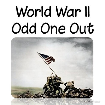 World War II Review Activity