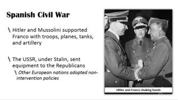 World War II: Rise of European Dictators