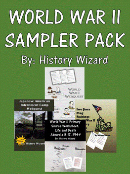 World War II Sampler Pack (History Wizard)