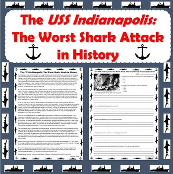 World War II- Sinking of the USS Indianapolis: The Worst Shark Attack in History