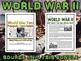 World War II - Source Analysis Bundle (Causes of WWII, Ato