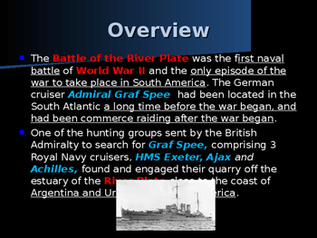 World War II - South America - Battle of the River Plate