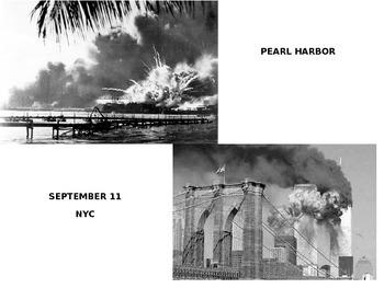 World War II Speech Analysis - Infamy (FDR) vs. 9/11 (Bush)