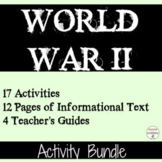World War 2 17 Station Activities for World War II Bundle UPDATED