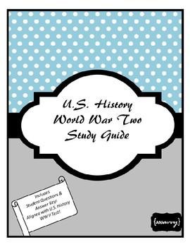 World War II Study Guide