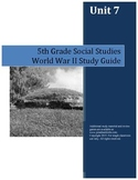 World War II Study Guide--5th Grade Social Studies
