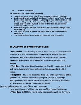 World War II Sutori Timeline Project