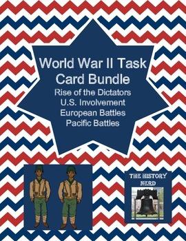 World War II Task Card Bundle