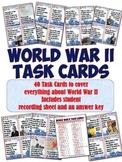 World War II Task Cards