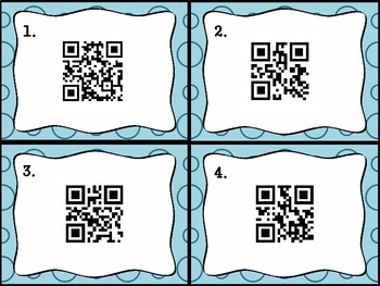 World War II Task Cards with QR Codes