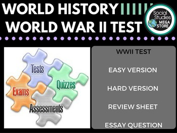 World War II Test and Quizzes