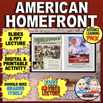 World War II: The American Homefront Bundle
