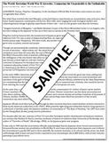 "World War II - ""The Asian Holocaust"" Article Analysis"