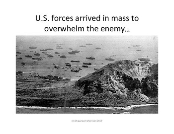 World War II:  The Battle of Iwo Jima