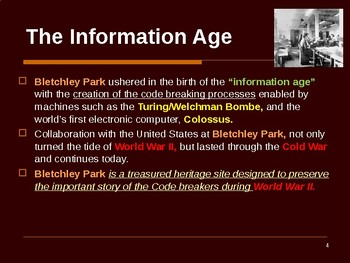 World War II - The Codebreakers of Bletchley Park