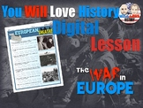 World War II: The European Theatre Digital Google Activity