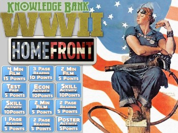 World War II (The Home Front) Digital Knowledge Bank