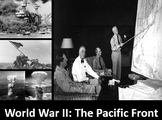 World War II The Pacific Front: Power Point, Printable Notes, Worksheets