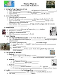 World War II The Pacific Theater Guided PowerPoint Lecture Notes