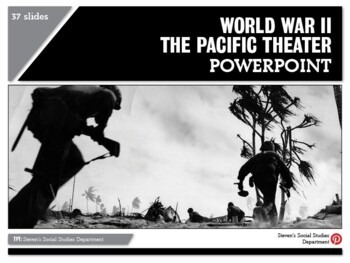 World War II The Pacific Theater PPT
