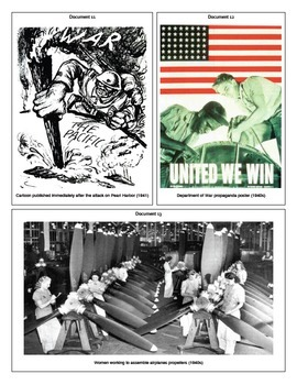 World War II: The US Home Front (Document Packet)
