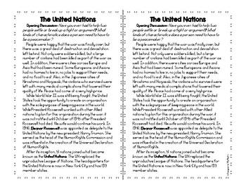 World War II: The United Nations