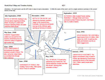 World War II Timeline/Map Activity with QR Code Stations