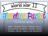 World War II Timeline Packet