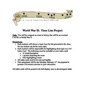 World War II:  Timeline Project