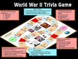 World War II Trivia Board Game Activity