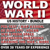 World War II Bundle (WW II) 1940's US History 1941-1945