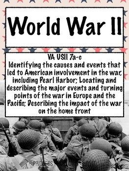 World War II - US History from 1865 to Present Cornell Notes