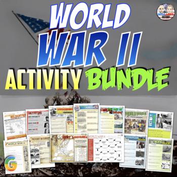World War II Unit Activity Bundle