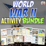 World War II Unit Activity Bundle (Activities Only)