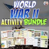 World War II | Unit Activity | Distance Learning Bundle