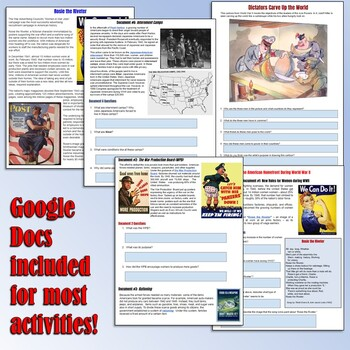 World War II Teaching Resource Bundle