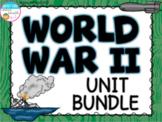 World War II Unit Bundle (WWII, WW2)