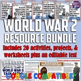 World War II Teaching Resource Bundle