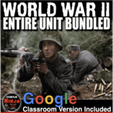 World War 2 Unit: PPTs, Worksheets, Plans, Kahoot, Test(WW