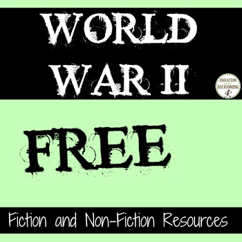 World War II Fiction and Nonfiction Resources