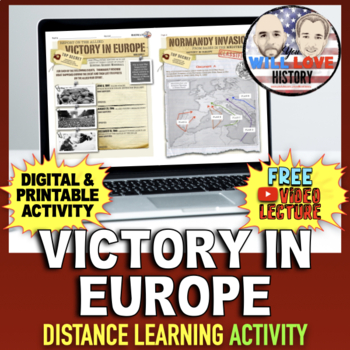 World War II: Victory in Europe Activity
