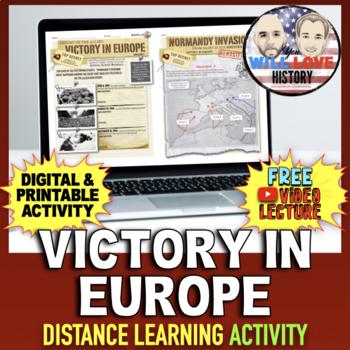 World War II: Victory in Europe Activity